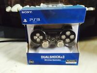 Boxed limited edition light up PS3 control