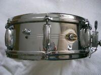 """Slingerland 130 Gene Krupa Sound King alloy snare drum 14 x 5"""" - Niles, USA - '62-'70 - Vintage"""