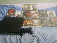 PS3 500Gb slimline *14 games* excellent condition!!