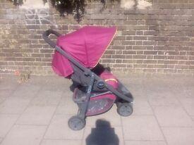 Graco Evo Mini Pushchair in Berry Red