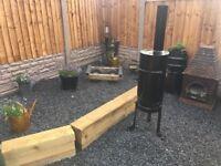 Bespoke Gas Bottle Log Burner / Fire Pit / Chimenea- CAN DELIVER