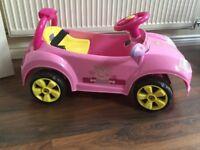 Peppa Pig battery operated car