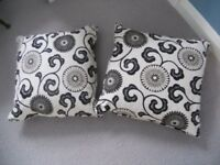 Lovely Black and White Print Osborne and Little Cushions for Sale