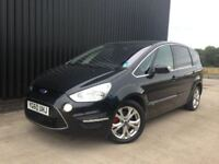 2010 (60) Ford S-Max 2.0 TDCi Titanium 5dr 2Keys, Service History, Finance Available, Diesel, May PX