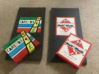 WADDINGTONS EARLY SEVENTIES MONOPOLY AND CAREERS BOARD GAMES