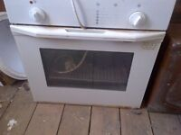 unused single conventional electric oven in very good condition can deliver