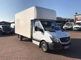 2014 mercedes sprinter 313cdi lwb Luton box van tail lift & side door £14995 j&ft&v