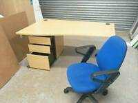 10 x Wavedesk Drawer And chair!!