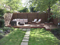 Discount 10% of any Garden Fencing, Decking, Turf Laying, Lawn Moving, Regular Maintenance