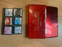 Nintendo 3DS plus 6 games