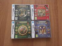 Professor Layton Nintendo DS Games set