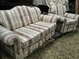 Three Seater ,Two Seater And Chair Suite