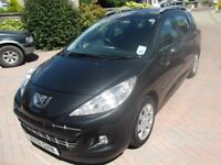 2012 Peugeot 207 SW Estate. Low Mileage, New MOT. Recently had full service.