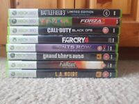 Xbox 360 - Games - Please see prices in the description, Battlefield 3, Far Cry 4, GTA 4...