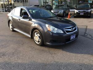 2010 Subaru Legacy 2.5i-4X4 - ONE OWNER-SAFETY & E-TESTED