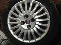 "15"" steel wheels fiat"