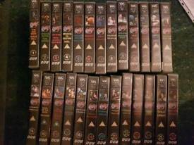 BLAKES7 COMPLETE 26 VHS COLLECTION