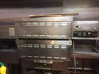 pizza oven double deck frampton electric