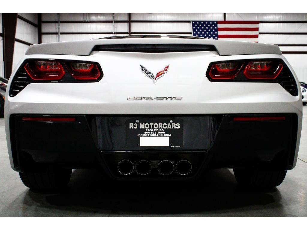 2017 Silver Chevrolet Corvette Stingray 1LT | C7 Corvette Photo 4