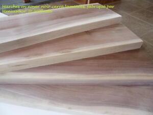 Table en bois, comptoir en bois, table en tranche d'arbre à vendre