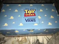 Boys Vans Toy Story trainers