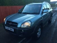 \\\ 07 HYUNDAI TUCSON 4X4 CDX \\\ IMMACULATE \\\ ONLY £2999