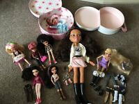 Bratz and moxie doll bundle