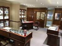 Jewellery Display Cabinets and Furniture Set