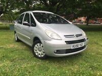 2006 CITROEN PICASSO 2.0 PETROL AUTOMATIC **BRAND NEW MOT*PANORAMIC ROOF*LOW MILEAGE 69,000**