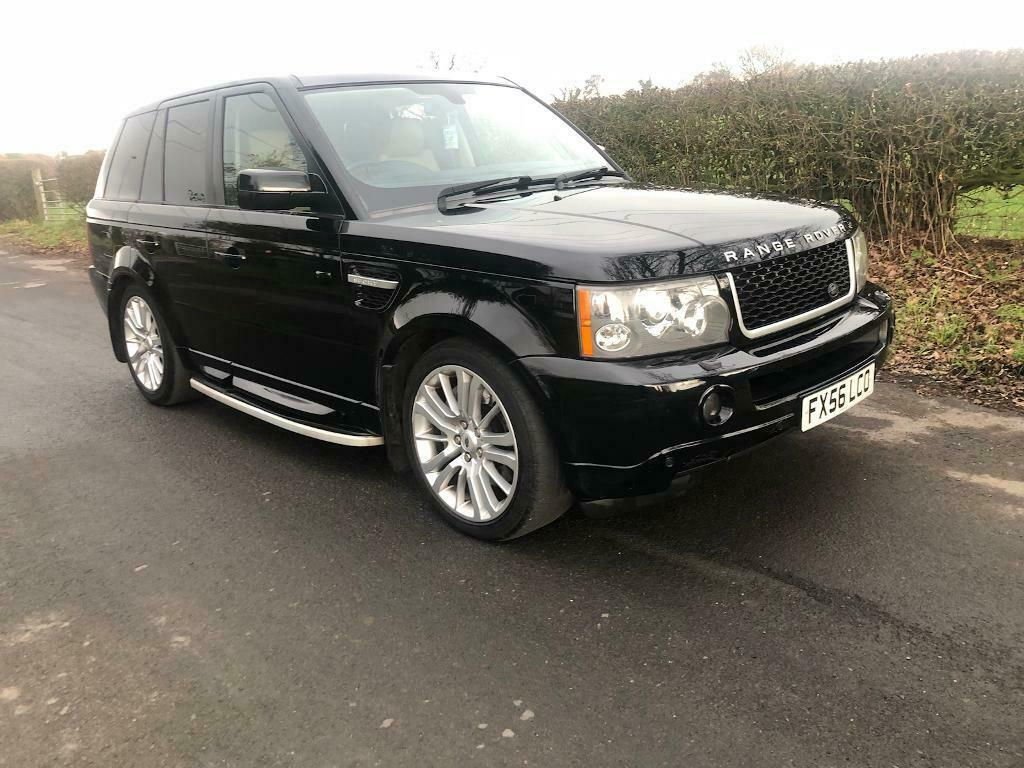 2006 56 PLATE LAND ROVER RANGE ROVER SPORT 2 7 TDV6 HSE AUTO IN JAVA BLACK  | in Stockport, Manchester | Gumtree