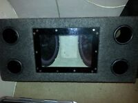 BOSS twin SUB with light and 2channel VIBE AMP