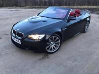 BMW M3 V8 DCT 35K RED LEATHER LONG MOT 2 KEYS BLACK