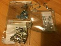 3 packets hair jewels / accessories