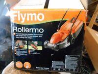 flymo rollermo lawnmower