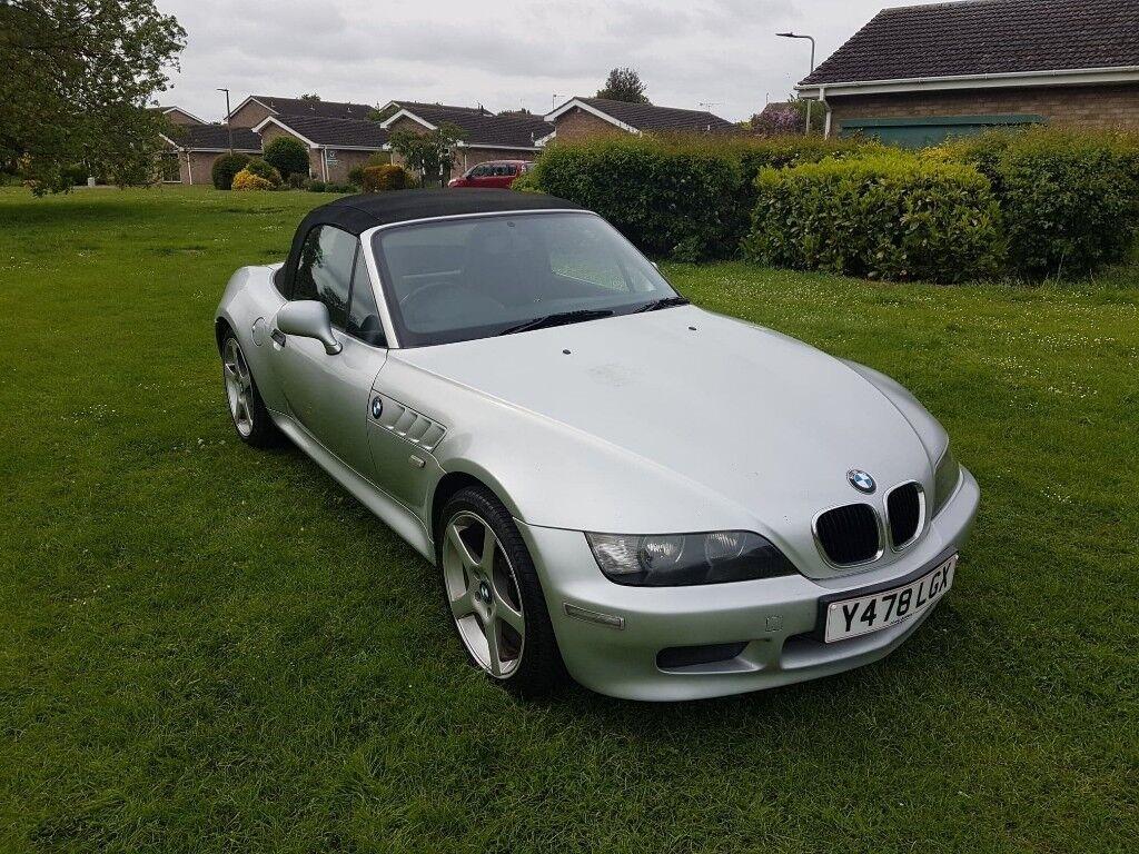 BMW Z3 2.0 petrol, Roadster 2dr, manual. Next MOT due 16-05