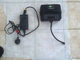 Lithium 36 hole trolley battery/charger, little used