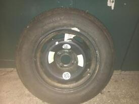 Mitchelin 195 /65 15 inch full size spare wheel. Fits a Citroen!