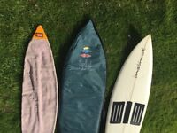 7foot Surfboard, with Ripcurl bag
