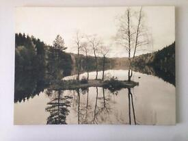 Lovely Lakeside Picture! 77cm x 57cm
