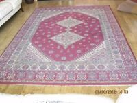 Large Persian patterned rug