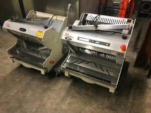 2 Pico jac mjl 450/10 and mrl 450-19 bakery bread slicers ( like new !