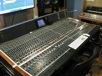Recording studio in north west London