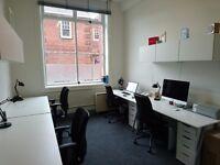 Desk to rent in Bristol's brilliant Tobacco Factory. Friendly, professional environment
