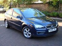 EXCELLENT EXAMPLE!!! 2005 FORD FOCUS 1.6 ZETEC CLIMATE 3dr, 1 YEAR MOT, WARRANTY