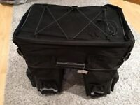 large 3 piece cycle touring pannier bags