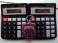 3 X Calculators