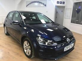VOLKSWAGEN GOLF 2.0 SE TDI BLUEMOTION TECHNOLOGY DSG 5d AUTO 148 B (blue) 2013