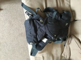 Stokke front baby carrier black