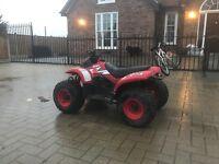 Suzuki 50cc full suspension quad