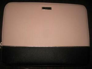 "Kate Spade new york 13"" MacBook Sleeve. Saffiano Textured Leather. For Macbook Air / Pro / Zenbook / Laptop / Chromebook"